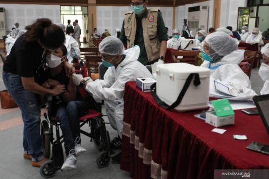 Gebyar vaksinasi penyandang disabilitas digelar tiga hari di Surabaya