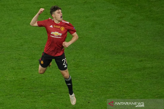 Manchester United lepas Daniel James ke Leeds seharga Rp490 miliar