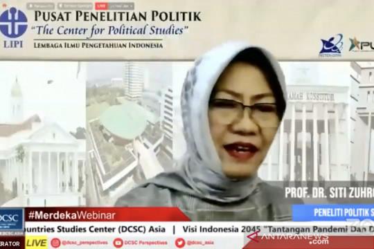 Peneliti LIPI: Parpol perlu berbenah demi wujudkan Visi Indonesia 2045