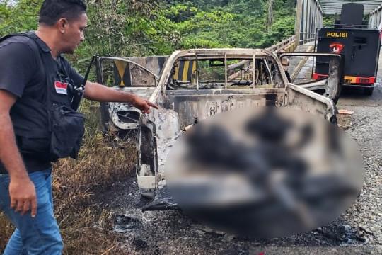 Satgas Nemangkawi tangkap Kadistrik Wusama karena diduga terlibat KKB