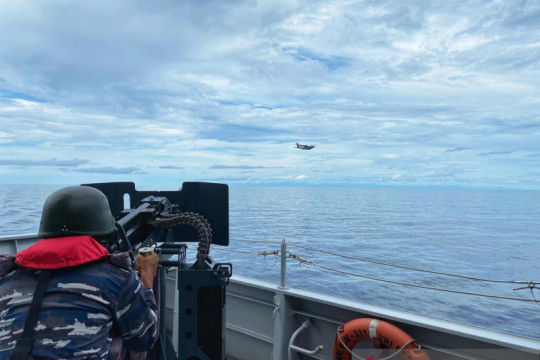 TNI AL latihan tempur di perairan pulau terluar RI