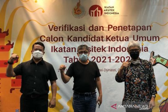 Ikatan Arsitek Indonesia tetapkan tiga kandidat ketua umum