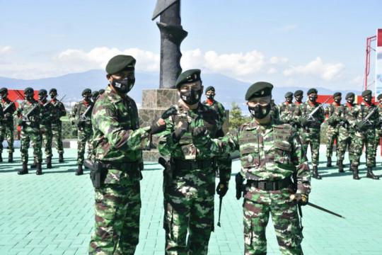 Letkol Inf Topan Angker jabat Danyonif Raider 712/Wiratama