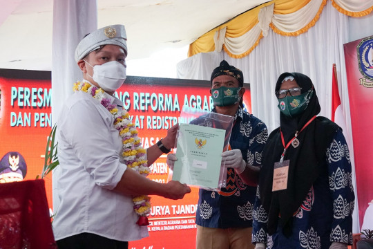 Desa Lancang Kuning di Bintan jadi pilot project reforma agraria