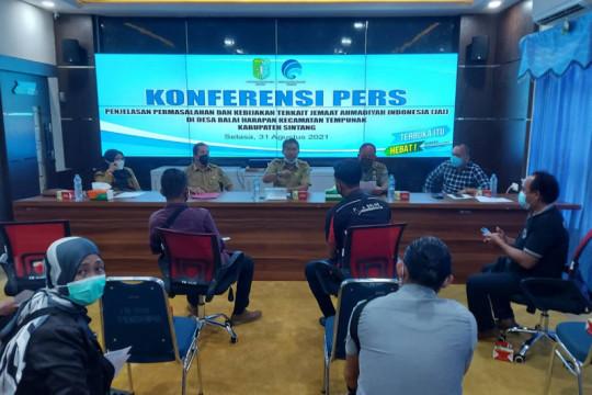 300 TNI-Polri jaga TKP perusakan tempat ibadah Ahmadiyah di Sintang