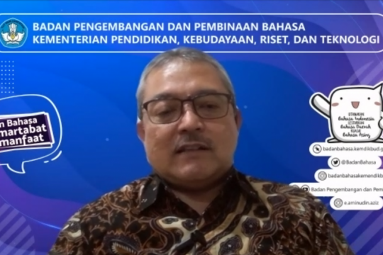 Badan Bahasa lakukan penyempurnaan ejaan Bahasa Indonesia