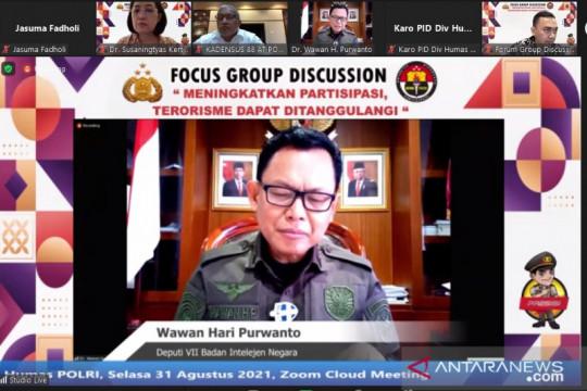 BIN bersinergi dengan Polri dan BNPT antisipasi aksi teror