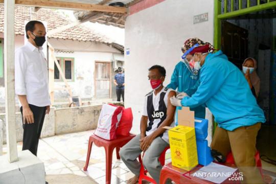 Presiden apresiasi vaksinasi sebagai syarat ujian dan masuk pesantren