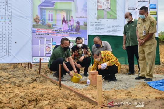 Riau dan GAPKI bangun 1.000 rumah untuk pekebun sawit