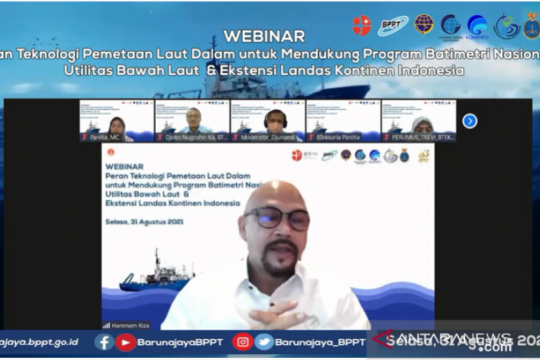 BPPT kelola 4 kapal riset dukung kelengkapan data batimetri nasional