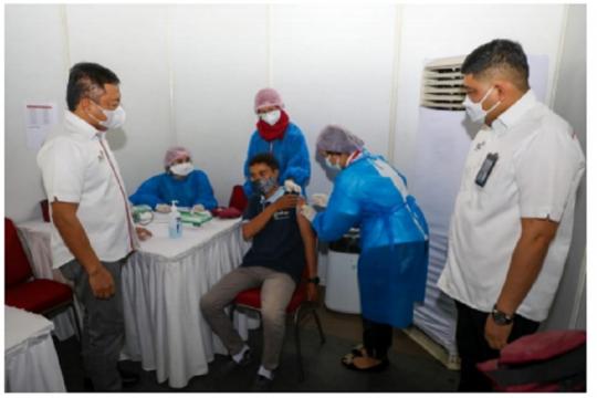 Vaksinasi COVID-19, TelkomGroup telah menjangkau 100 persen karyawan