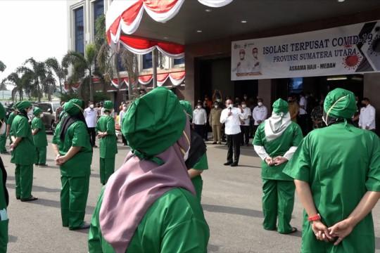 Asrama Haji Kota Medan jadi tempat isoter pasien COVID-19