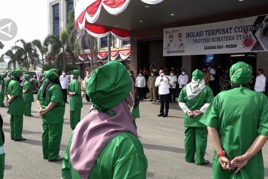 Gubernur Sumut ingatkan nakes edukasi masyarakat setelah divaksin
