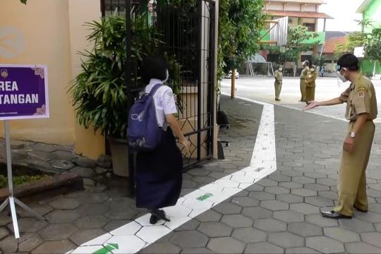 Sekolah dibuka, Wali Kota Semarang ingatkan prokes
