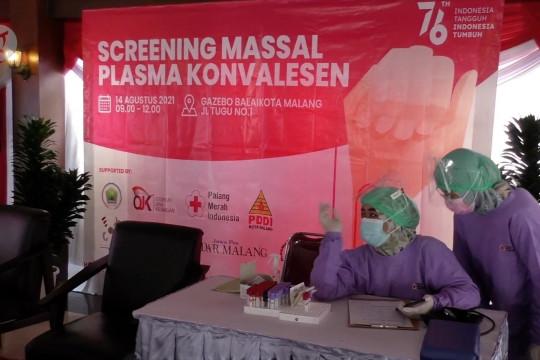 Berburu plasma konvalesen, PMI gelar screening massal