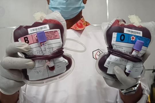 Lanal Banten gelar donor darah dan plasma konvalesen