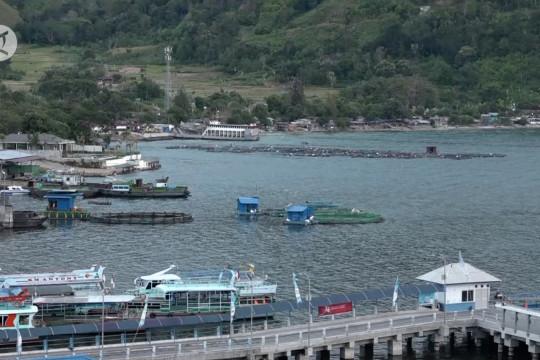 3 pelabuhan Danau Toba selesai revitalisasi