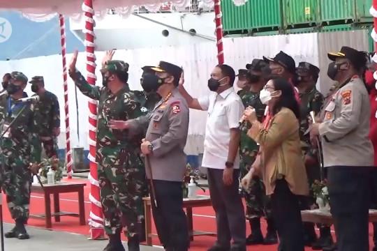 Kapolri ajak warga Jayapura sakit COVID-19 isolasi di KM Tidar