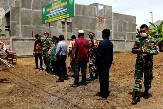 Kodim 0103 Aceh Utara resmikan kampung tangguh