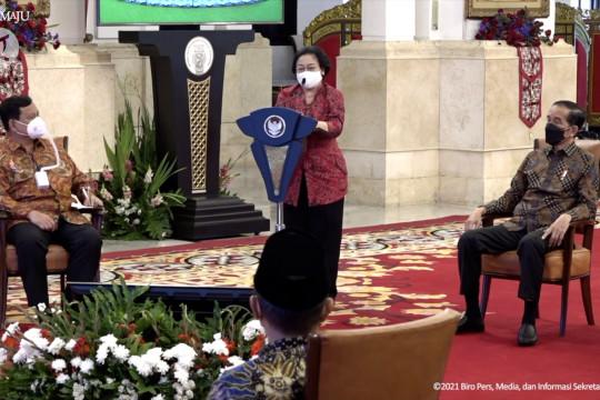 Megawati dan Prabowo sebut Jokowi sudah di jalan yang benar