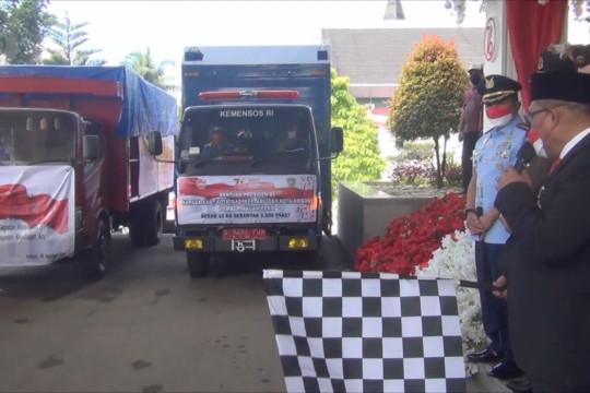 Gubernur Maluku lepas penyaluran bantuan presiden