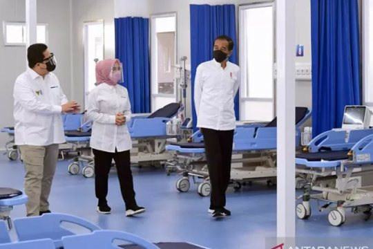 Presiden resmikan RS khusus pasien COVID-19 di Jakbar