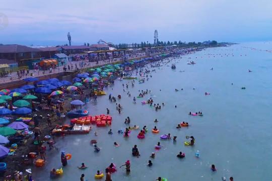 Pariwisata Danau Alakol di Kazakhstan kembali dibuka