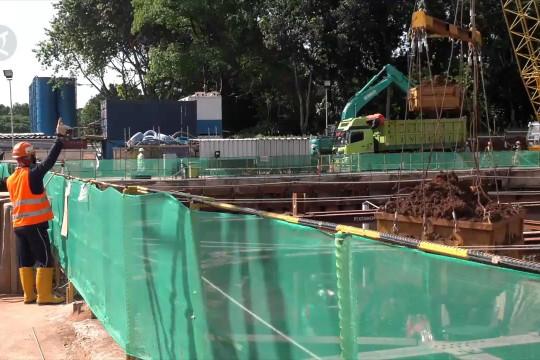 Progres proyek MRT Fase II capai 20,46 persen