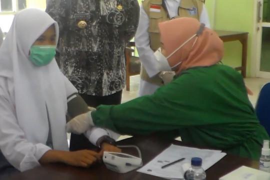 1000 siswa SMK di Jember ikuti vaksinasi