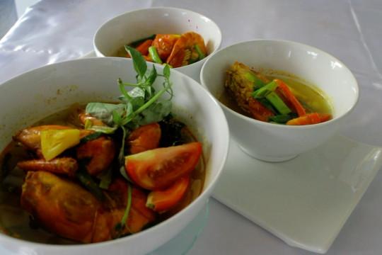 Pindang udang galah, kuliner sehat khas Palembang penambah nafsu makan