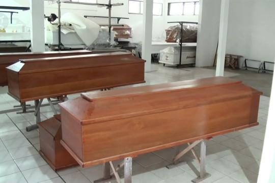 Naiknya permintaan peti pemulasaran jenazah di Palangka Raya
