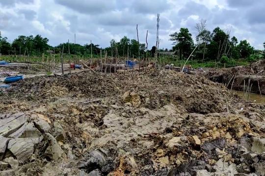 Pemkab Bangka amankan aset  yang dijarah tambang ilegal