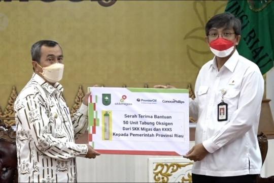 Pemprov Riau terima bantuan 145 konsentrator oksigen