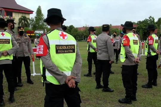 Polda Kalteng bentuk Satgas Batalyon Vaksinator