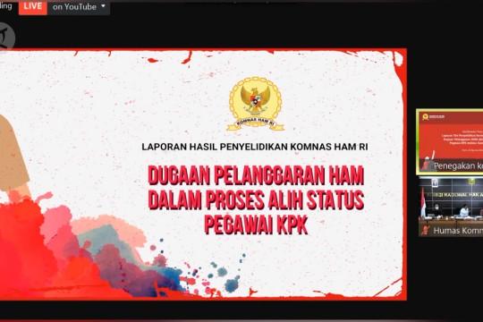 Temukan 11 pelanggaran di TWK KPK, Komnas HAM beri 5 rekomendasi