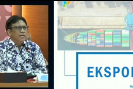 Juli, neraca perdagangan Indonesia surplus
