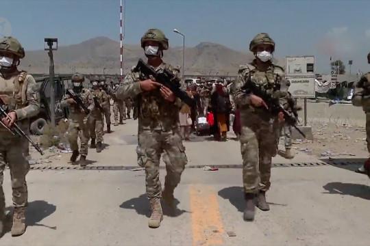 Turki tarik pasukan dari Afghanistan