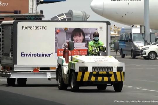 Indonesia kedatangan lima juta vaksin Sinovac