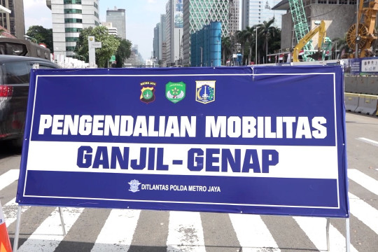 Jakarta berlakukan kembali ganjil genap, penilangan belum dilakukan