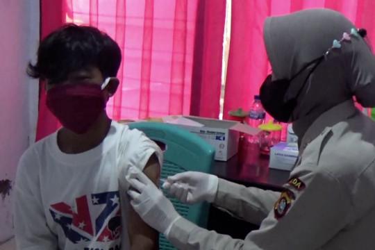 Polda Sultra gelar vaksinasi massal bagi penyandang disabilitas