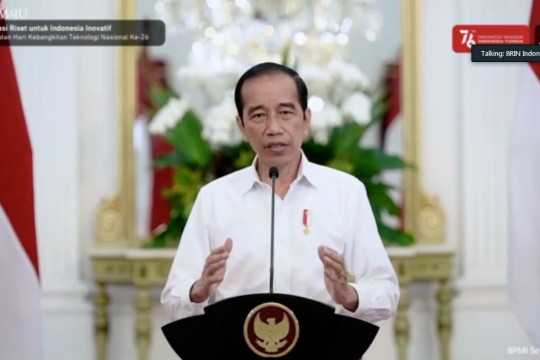 Presiden: Pengembangan teknologi kunci Indonesia maju