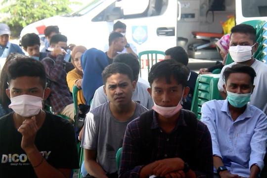 Turun zona orange, Satgas COVID-19 Ternate tetap lakukan operasi yustisi