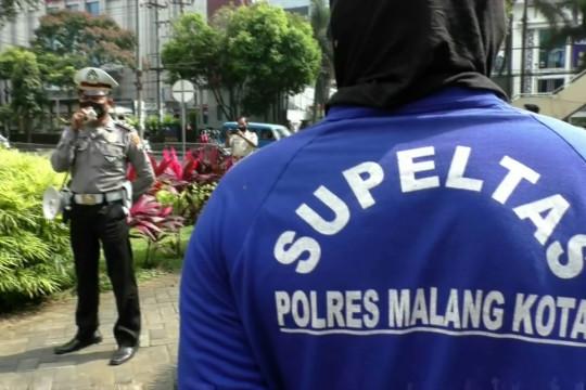Cara Satlantas Polresta Malang Kota tekan laka lantas