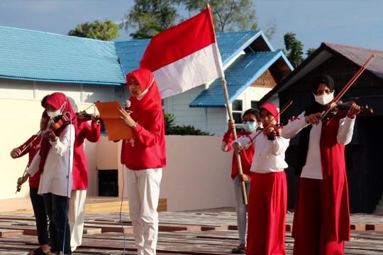 Perayaan proklamasi di Banda Aceh dan Poso