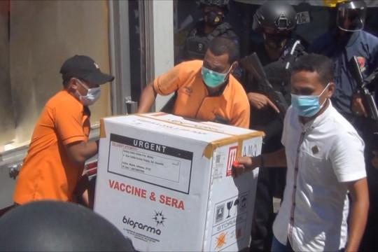 Stok vaksin moderna untuk nakes di Ambon belum mencukupi