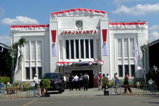 Stasiun Tugu dan Malioboro kawasan wajib bermasker dan vaksin