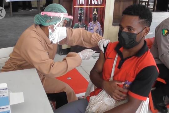Papua targetkan vaksinasi 57 ribu pelajar di 4 klaster PON XX
