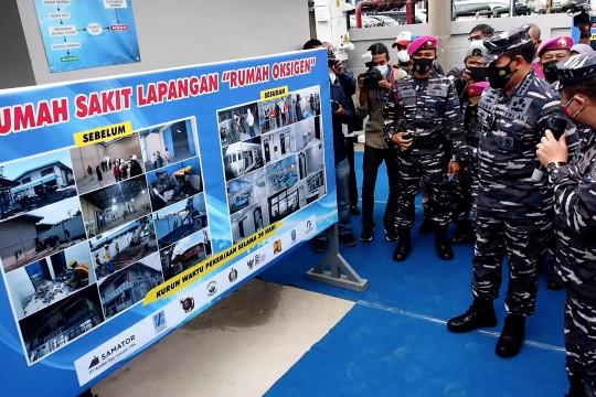 Rumah Oksigen Gotong Royong di Jatim resmi dibuka