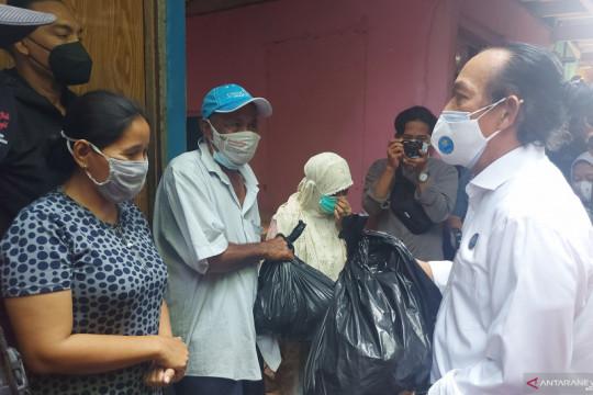 BNN salurkan lima ribu sembako bagi warga terdampak COVID-19