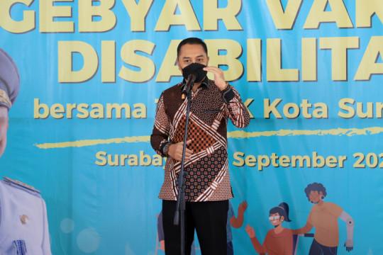 Wali Kota: Target Surabaya masuk zona kuning terhitung lebih cepat